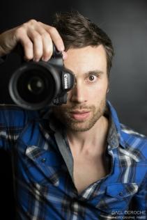 Auto portrait photographe actuel mode Paris, jeune parisien
